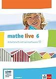 mathe live / Arbeitsheft mit Lösungsheft und Lernsoftware 6. Schuljahr: Ausgabe N