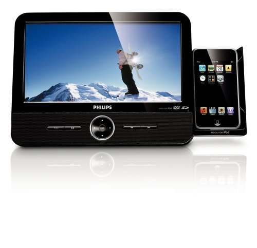 Philips DCP951/37 9-Inch Portable DVD Player with Ipod Do...