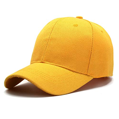 MKJNBH Baseball Cap Hat Lady Light Board Solid Color Baseball Cap Wild Cap Visor Male Summer ()