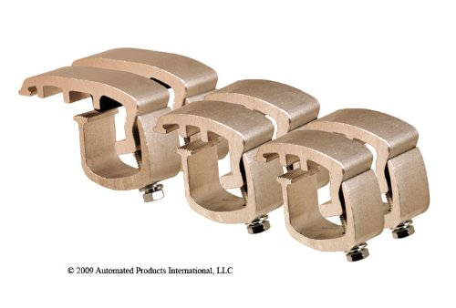 API AC1081COMBOP6 Clamps for Mounting Truck Caps on Ford F-150 2004 & Newer (Set of 6)
