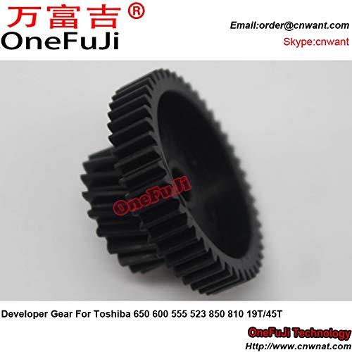 Printer Parts Developer Gear for Toshiba 650 600 555 523 850 810 19T 45T