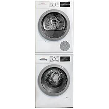 Amazon Com 500 Series White Front Load Compact Stacked