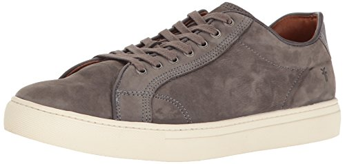 Slate Lace - FRYE Men's Walker Low Lace Fashion Sneaker, Slate, 10 D US