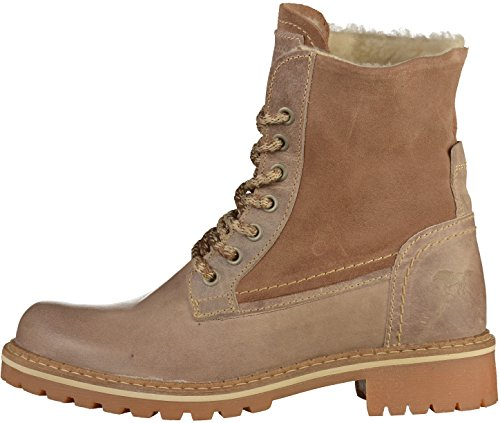 2837 609 Femmes Taupe Mustang Bottine 8wFqgx8d