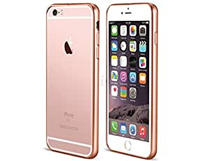 Alta calidad Durable del Metal parachoques KingFly para 11,94 cm iPhone 6/6S (Oro rosa), teléfono Accessorries