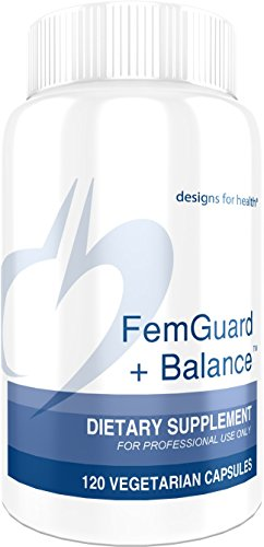 Designs for Health FemGuard Balance – Women s Formula with DIM, 5-L-MTHF Resveratrol 120 Capsules