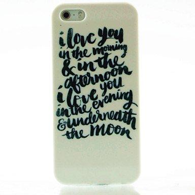 Englisch Brief Love Poems Hard Case Für Iphone 5 Amazonde Elektronik