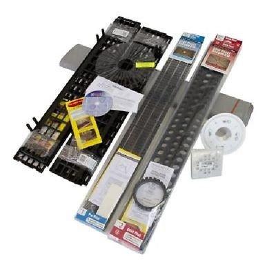 Goof Proof Standard Liner/Drain Shower Floor Kit