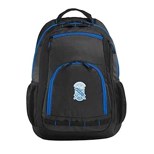 Greekgear Phi Beta Sigma Xtreme Backpack Black Blue