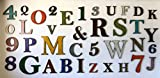 """Metal Letter H - 8"""", 12"""", 16"""", 22"""", 30"""" or 35"""" inch"""