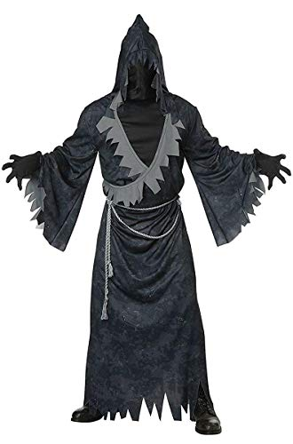 California Costumes Men's Soul Eater Adult Man Costume, Black/Gray, Large/XLarge