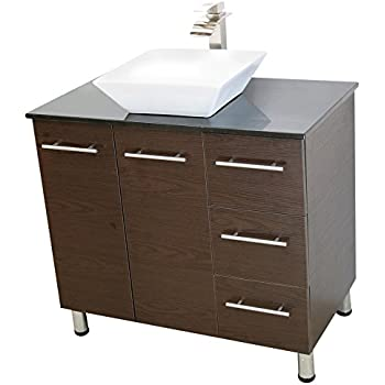 Windbay 36 Quot Free Standing Bathroom Vanity Sink Set