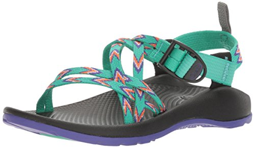 Chaco ZX1 Ecotread Sandal, Mint Leaf, 6 M US Big Kid