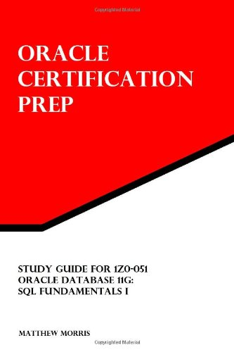 Study Guide for 1Z0-051