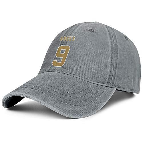 Bombline Mens Womens MVP-BREES-9- Adjustable Retro Summer Hats Trucker Washed Dad Hat Cap ()
