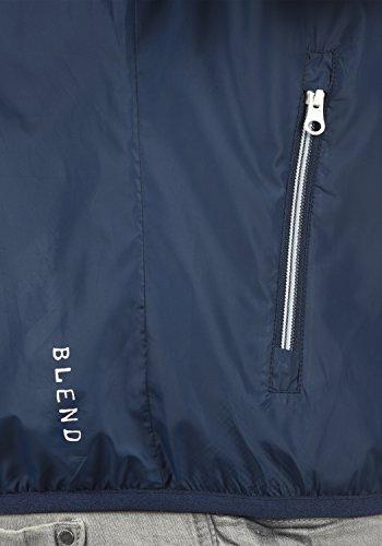 hombres Zubaru para 70230 chaqueta Navy BLEND rompevientos HqpqP