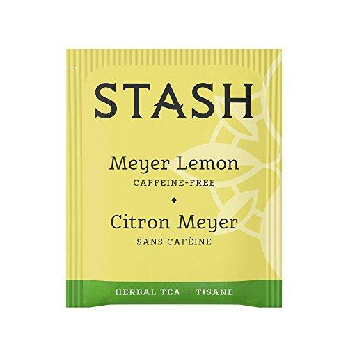 Stash Tea Meyer Lemon Herbal Tea 20 Count Tea Bags in Foil (Pack of 6) (Packaging May Vary) Individual Herbal Tea Bags for Use in Teapots Mugs or Cups, Brew Hot Tea or Iced Tea by Stash Tea (Image #2)
