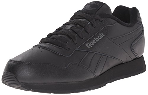 Reebok Men's Royal Glide XWD 4E Running Shoe, Black/DHG Solid Grey/Reebok Royal, 9 4E US