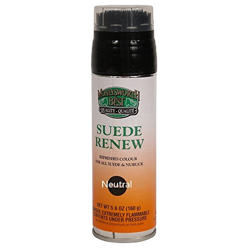 Moneysworth & Best Suede Renew Dye / Conditioner Color Spray 165 g / 5.8 oz, Neutral(Colorless) by Moneysworth and Best Shoe Care INC. (Image #2)