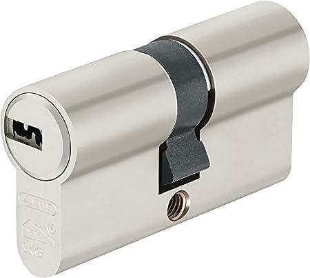 ABUS EC550 - Cerradura de cilindro de perfil NP, LG 28/N + G reversible 34 mm 3 llaves con cerradura - 1 unidad EC550NP, EC550NP EC550NP