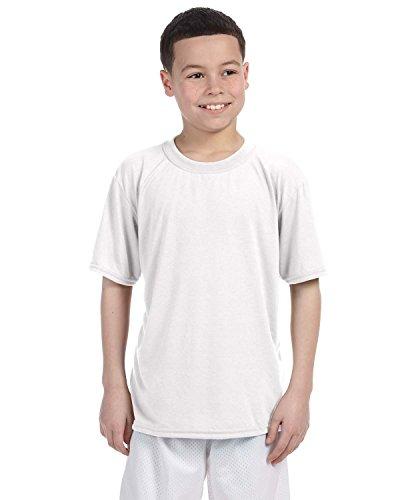 Gildan Performance Youth 4.5 Oz. T-Shirt, XS, White