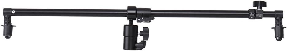 Andoer Studio Photo 360 Degree Swivel Head Reflector Holder Arm Support for 66cm-123cm Diameter Reflector or Diffuser