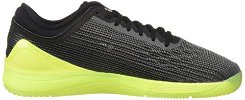 Reebok Men's CROSSFIT Nano 8.0 Sneaker, Alloy/Black/Solar Yellow, 6.5 M US by Reebok (Image #7)