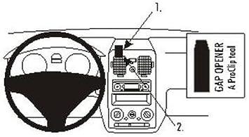 Brodit 853747 Proclip Halterung Schwarz Elektronik