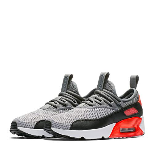 Nike Air Max 90 EZ (Kids) (Wolf Grey/Cool Grey-Black/Crimson, Size 5Y M US)