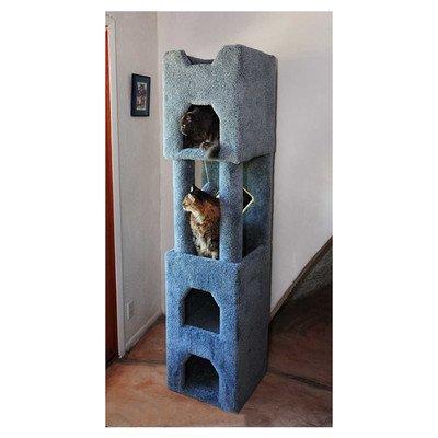New Cat Condos Premier 6' Cat Tower, Brown