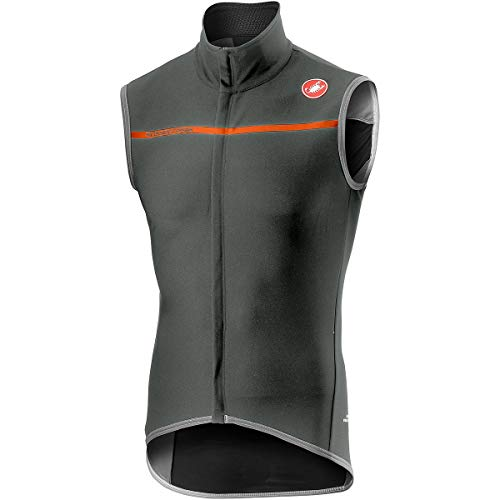 Castelli Perfetto Vest - Men's Forest Gray, ()