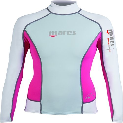 Mares Scuba Diving Thermo Guard 0.5 Long Sleeve She Dives-Blue Fog-14 [並行輸入品]   B06XFVTZJW
