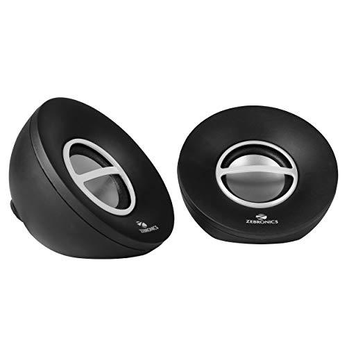 SPK  ZEBRONICS 2.0 Computer Multimedia Speaker  Shell