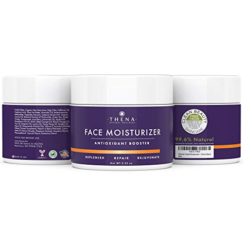 41EsfWoPqzL - Anti Aging Face Moisturizer Cream For Dry Sensitive Skin, Organic Natural Facial Cream Anti Wrinkle Hyaluronic Acid Retinol Vitamin C, Face Lotion Eye & Face Care Skin Care Products Women Men
