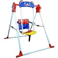 ATNINE Indoor/Home/Garden/Outdoor Steel and Iron Swing Chair for Babies (Multicolour)