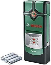 Bosch Truvo detectieapparaat (3 x AAA-batterijen, detectiediepte staal/koper/stroomvoerende leidingen max. 70/60/50 mm, in blikdoos).