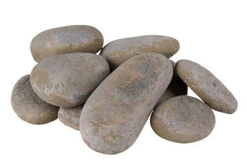 (10 Slate River Rock Fyre Stones)
