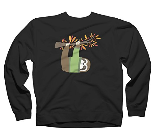 Sweater Weather Sloth Women'S Graphic Crew Sweatshirt - Design By Humans - Sloth Sweater