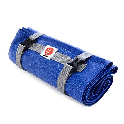 Yogo Ultralight Travel Yoga Mat by Folding Mat With Integrated Straps and Handle...