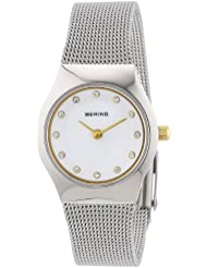 BERING Time 11923-004 Womens Classic Collection Watch with Mesh Band and scratch resistant sapphire crystal. Designed...