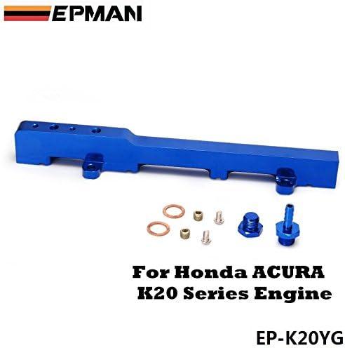 Honda K20 K20A K20A2 Jdm Race Engine Cnc Fuel Injection Rail Kit Blue Acura