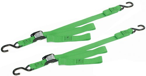 Ancra 40888-28-02 Green Original Premium Cam Buckle Tie Down, 4 Pack ()