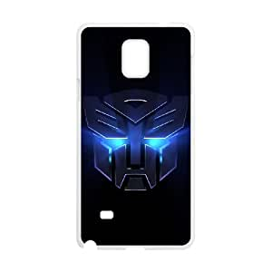 Transformers Samsung Galaxy Note 4 Cell Phone Case White yyfabd-314131