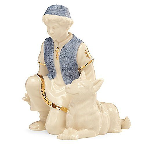 Lenox First Blessing Nativity Shepherd with Dog by Lenox ()