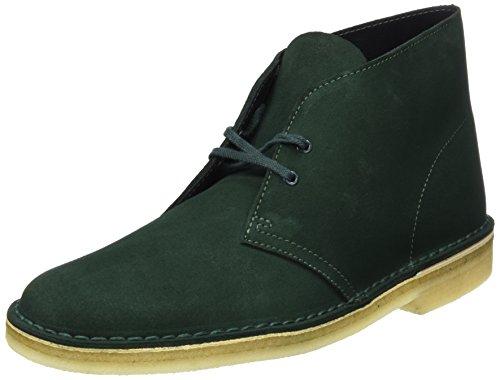 Uomo Verde Gr Clarks Desert Boot Dark Originals Stivali nZ4qZC