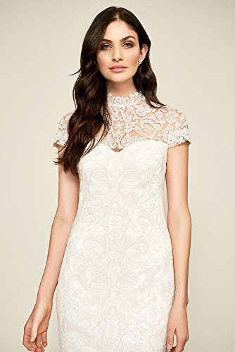Style Dress s ALX16511MBR David Wedding Bridal Ivory Lace Bridget Sheath Wnqnw0Y1a