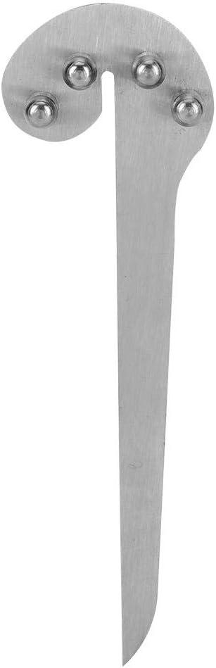 Medidor de centro Wookworking medidor de buscador de centro multifunci/ón de 150 mm suministros de marcado Regla Wookworking para marcar en /ángulo el mecanizado de metales