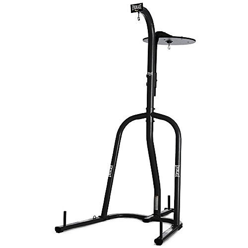 Dual Station Heavy Bag Stand and Speed Bag Stand, Portable Heavy Bag Stand by Everlast by Everlast
