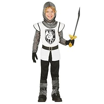 Disfraz de caballero medieval infantil (3-4 años): Amazon.es ...