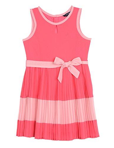 e Special Occasion Fashion Dress, Bright Pink Chiffon, 6X ()
